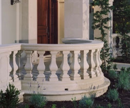 mbs balustrade cast limestone